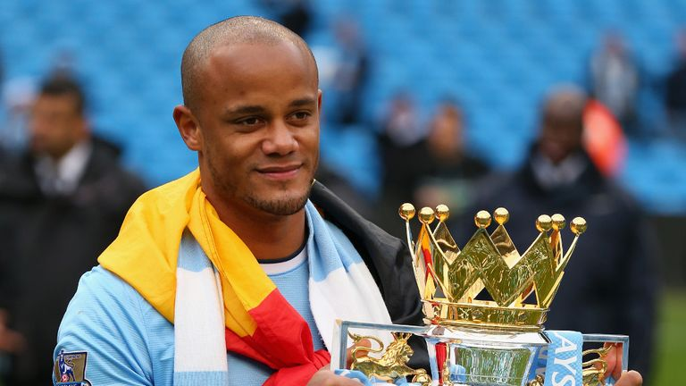Vincent Kompany: Target for City is more Premier League success