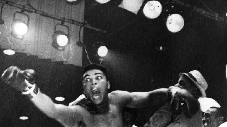"""I shook up the world!"" Muhammad Ali stunned Sonny Liston twice in the mid 1960s"