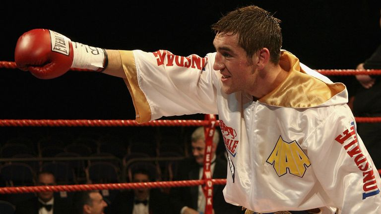 Alex Arthur's had the full set of super-featherweight titles
