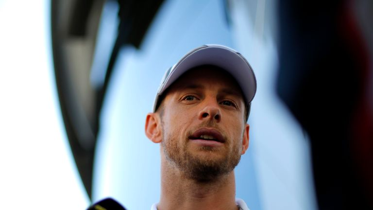 Jenson Button: Wants to continue in F1