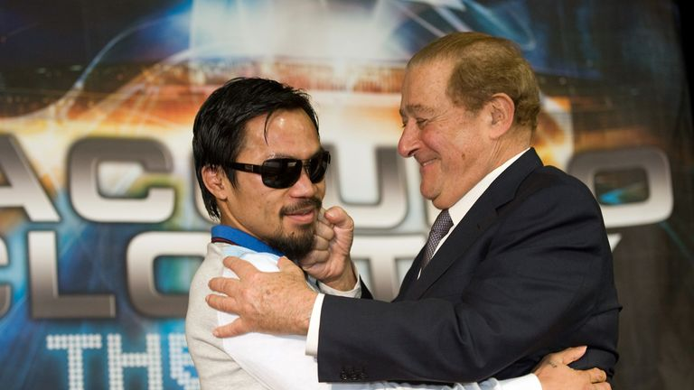 Manny Pacquiao: Signed new deal with boxing promoter Bob Arum
