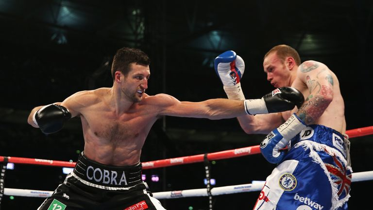 Froch's plan was to take the centre of the ring