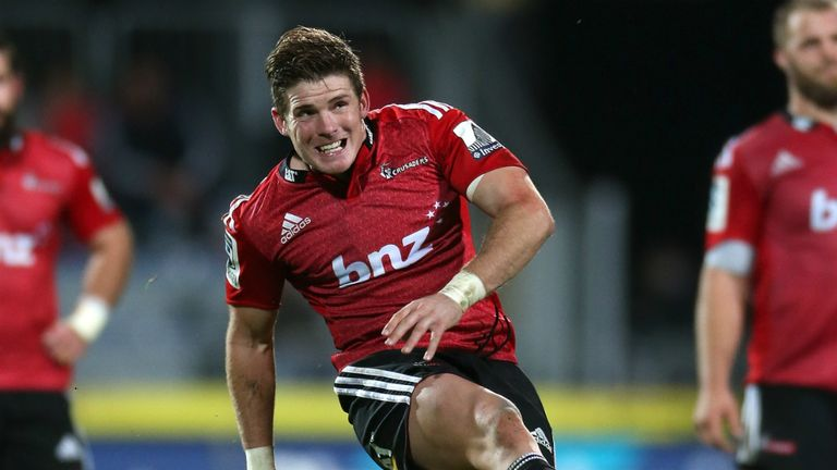 Colin Slade: Crusaders ace called up by All Blacks