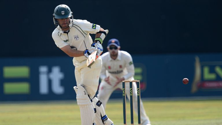 Daryl Mitchell: Worcestershire captain hit 90 and put on 163-run opening stand with Richard Oliver