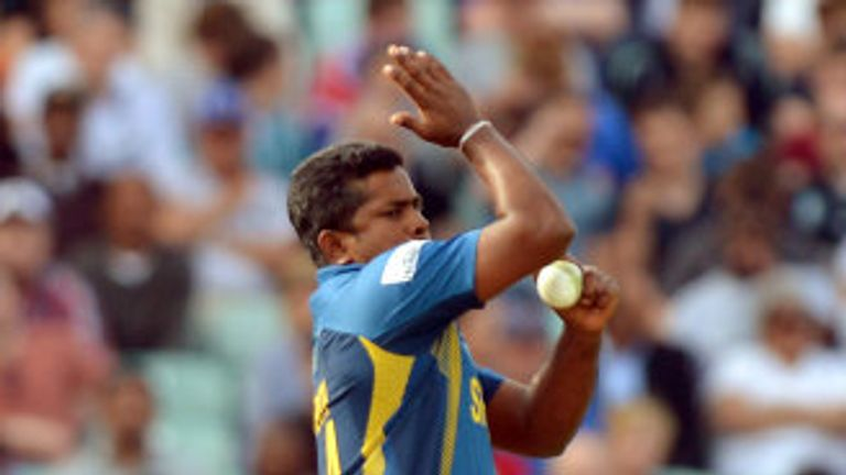 Rangana Herath: Has joined the Sri Lanka squad.