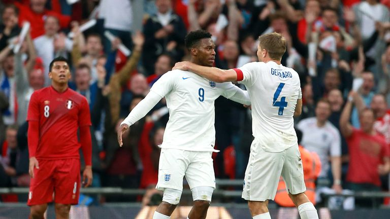 Daniel Sturridge: Lit up Wembley with a superb solo goal against Peru