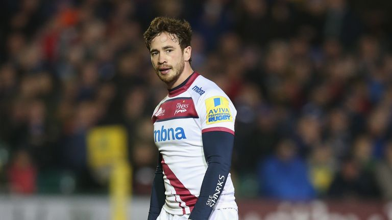 Danny Cipriani: Omitted from Sale's squad for Saturday's loss at London Irish