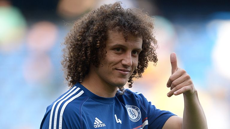 David Luiz: Praises Chelsea players, staff and fans