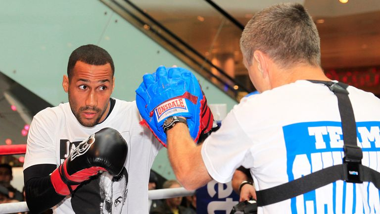 James DeGale: Facing a crucial night in his career