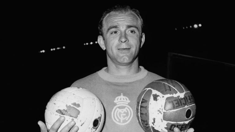 Alfredo di Stefano: Real Madrid giant suffers heart attack