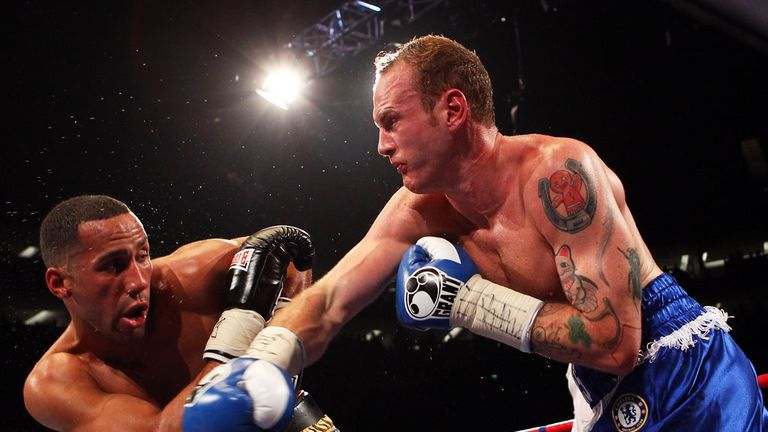 George Groves beat James DeGale on points in 2011
