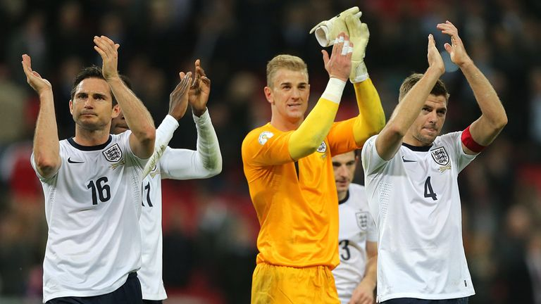 England: Have moved up to 10th in FIFA's world rankings