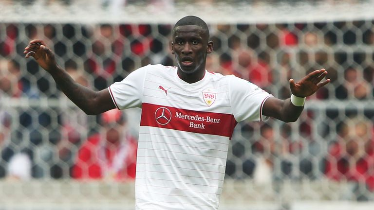 Antonio Rudiger: Happy at Stuttgart