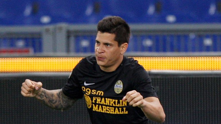 Juan Manuel Iturbe: Could move on from Verona