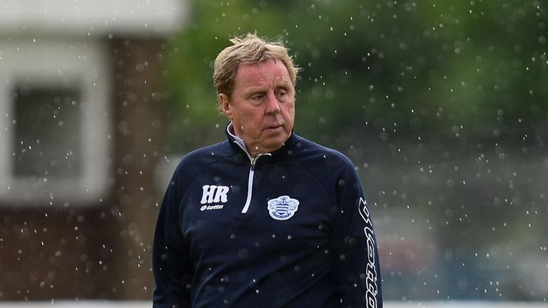 Harry Redknapp: Relishing the big one at Wembley