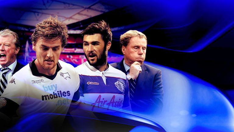 Derby v QPR: who will win football's richest game at Wembley on Saturday?