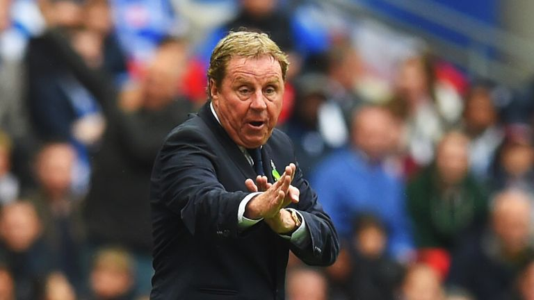 Harry Redknapp: Faces former club Tottenham in the second round of fixtures