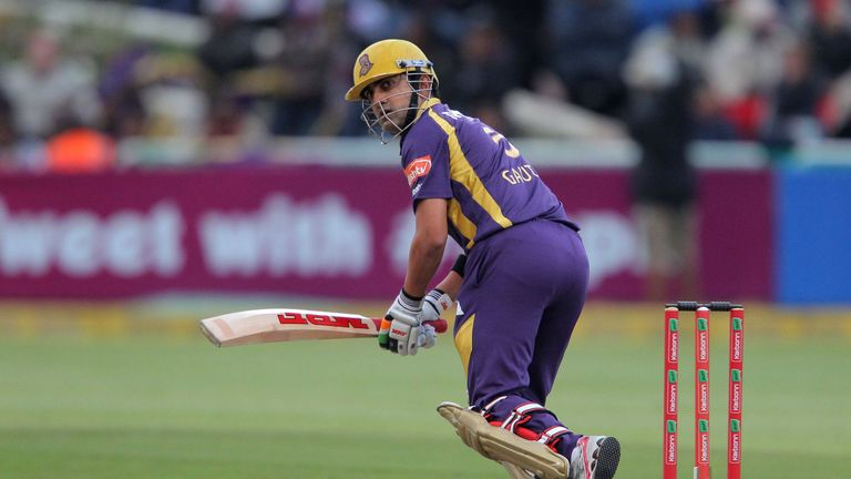 Gautam Gambhir: Lifted the trophy after his team chased down a target of 200