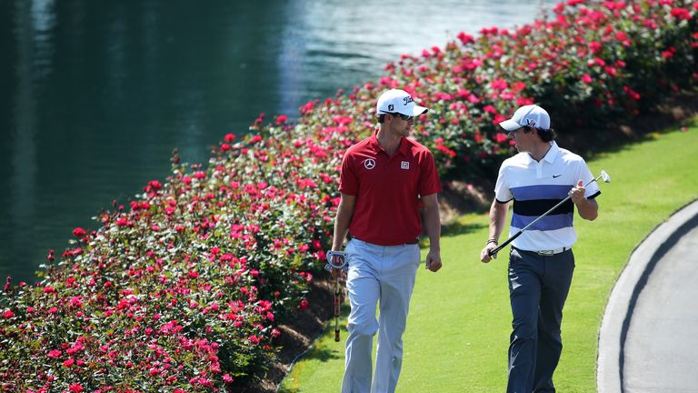 Adam Scott and Rory McIlroy head the betting this week