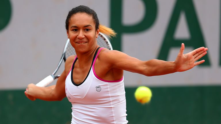 Heather Watson: Will face fourth seed SImona Halep in the second round at Roland Garros
