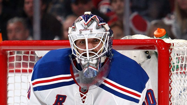 Henrik Lundqvist: Made 40 saves for the New York Rangers