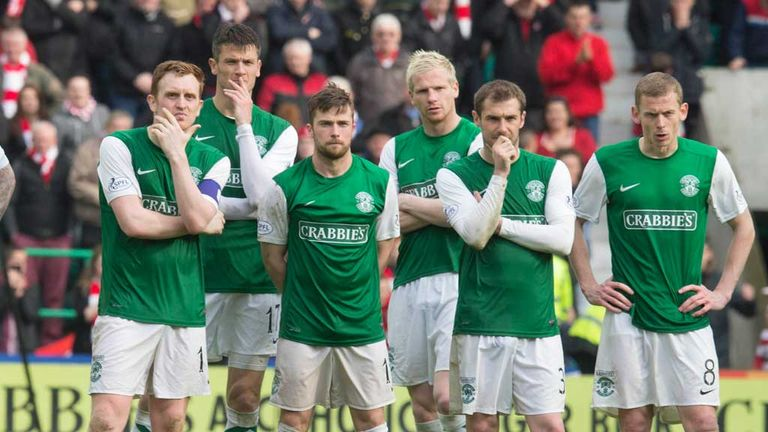 Hibernian: Edinburgh club will start next season in the Scottish Championship