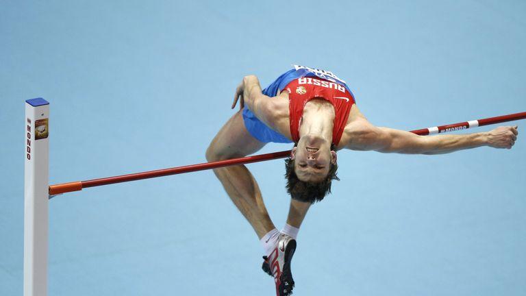 Russia's Ivan Ukhov set a new Diamond League record