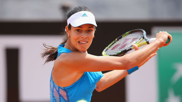 Ana Ivanovic: Brushed aside the challenge of wildcard Karin Knapp in Rome