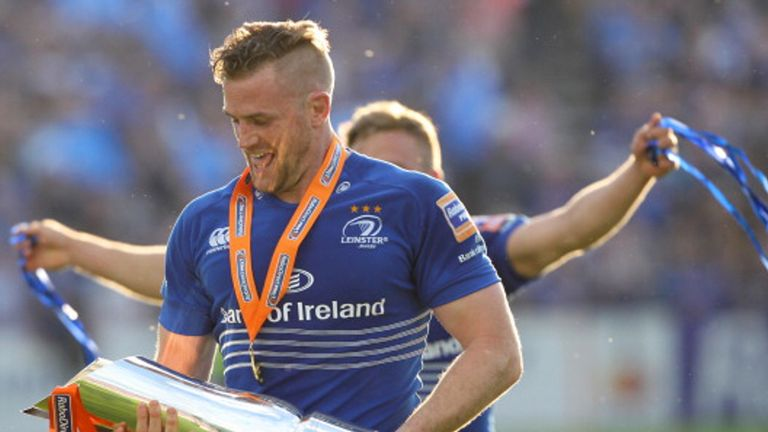 will Jamie Heaslip be lifting the PRO12 for Leinster?