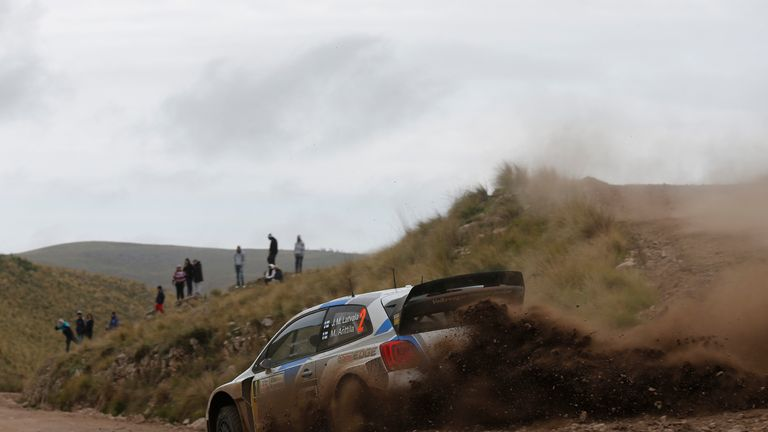 Jari-Matti Latvala: Comfortably ahead with just one day to go in Rally Argentina