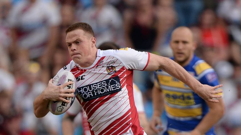 Joe Burgess: Youngster shone again with two tries against Salford