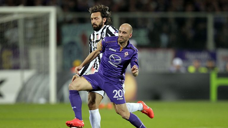 Valero has created more chances than Andrea Pirlo in Serie A this season