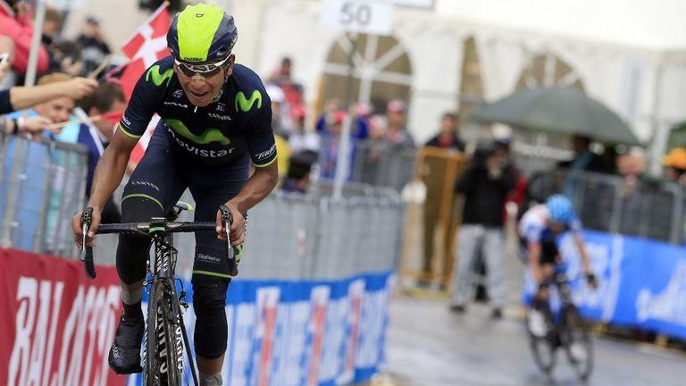Nairo Quintana crossed the line 4min 11sec ahead of Rigoberto Uran