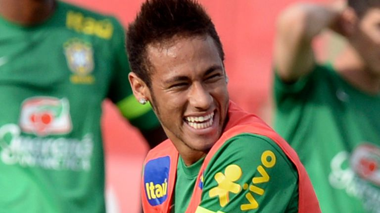 Neymar: Has handled the pressure so far but the expectation will scale new heights on Thursday