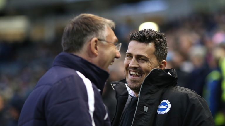 Nigel Adkins and Oscar Garcia: Chasing play-off spots