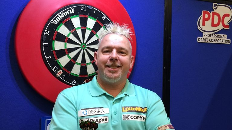 Peter Wright: Bounced back to form to win the Players Championship 9