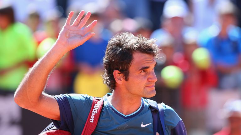 Roger Federer: Fought back in the third set but was still beaten in the tie-break