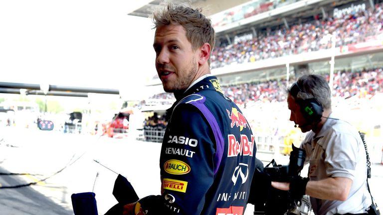 Sebastian Vettel: Having little luck so far in 2014
