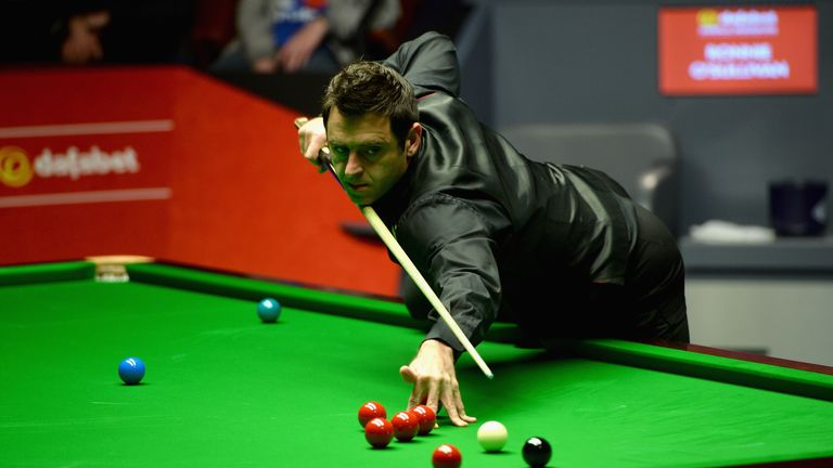 Ronnie O'Sullivan: Saturday off for defending world champion