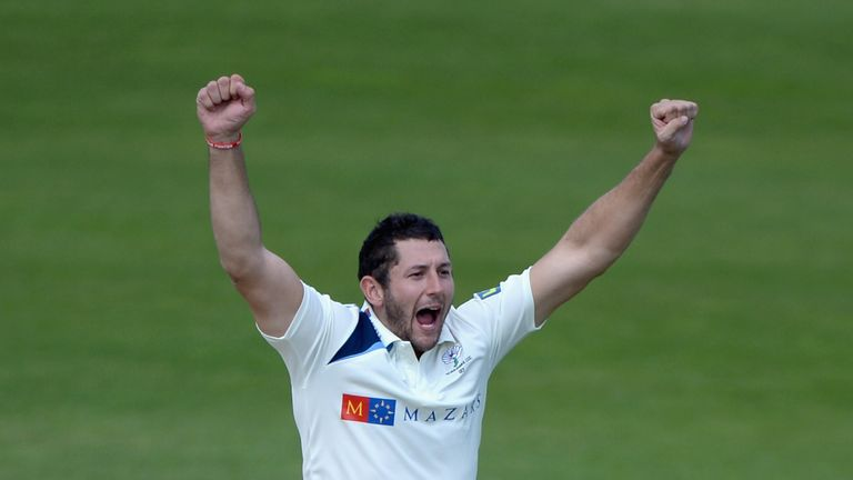 Tim Bresnan: Struck late on for Yorkshire against Lancashire