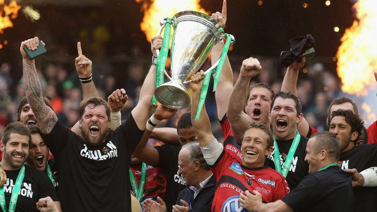 European glory: Heineken Cup success