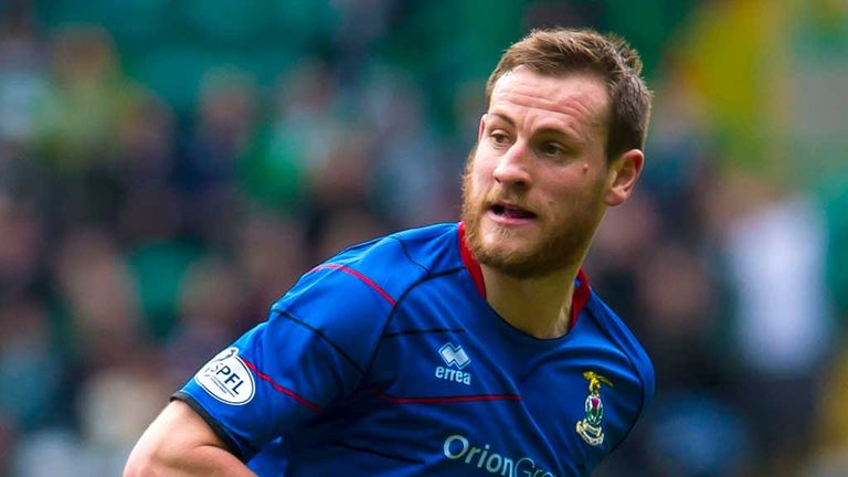 Gary Warren: Three more years for the Inverness defender