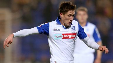 James Rowe: Extends Prenton Park stay