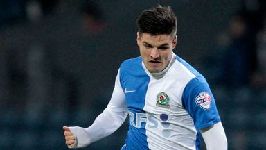 Ben Marshall: Hit a 93rd minute equaliser for Blackburn