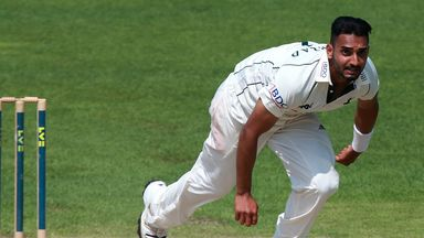 Ajmal Shahzad: Fast bowler has been given an early release by Nottinghamshire to sign for Sussex