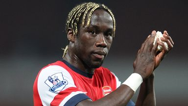 Bacary Sagna: Defender has left Arsenal for Manchester City
