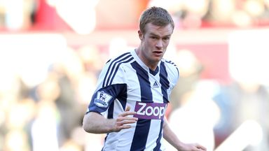 Chris Brunt: Disappointed with West Brom's season