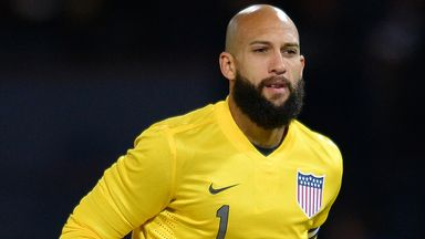 Tim Howard: Believes USA must target the quarter-finals