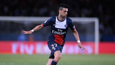 Javier Pastore: Opened the scoring for PSG