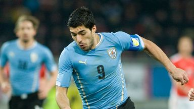 Luis Suarez: Hailed by Uruguay team-mate Diego Lugano